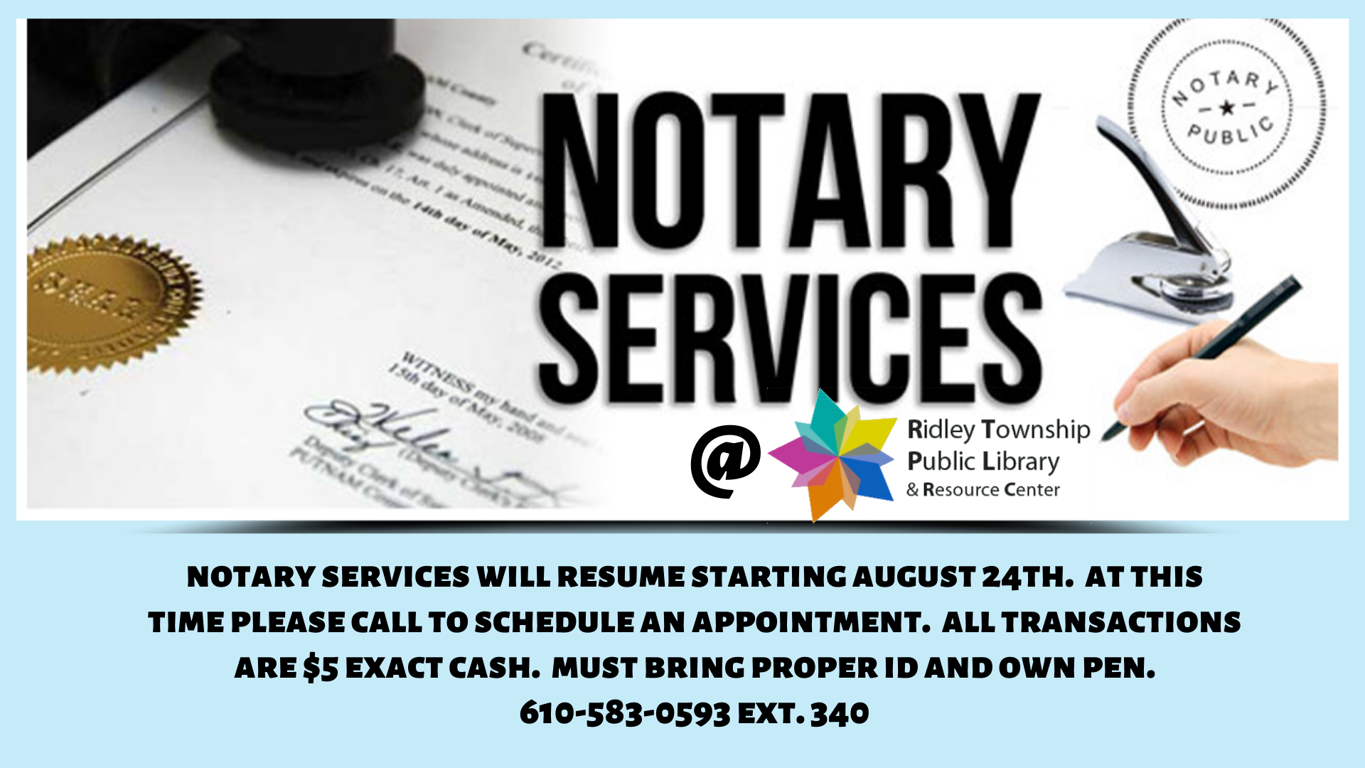 Copy of Notary Services